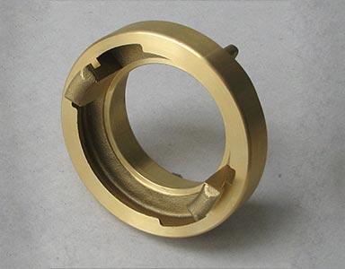 Die casting – brass, Dempan